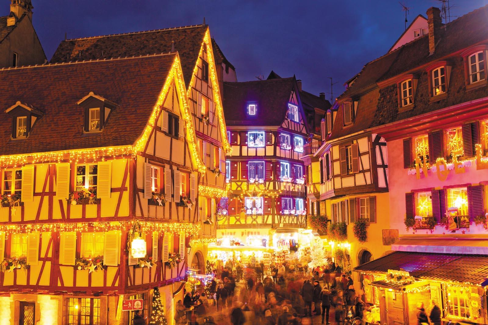 Image De Noel En Alsace.Voyage Venet Marches De Noel En Alsace Du 13 Au 15